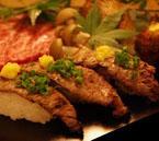 飛騨牛炙り寿司